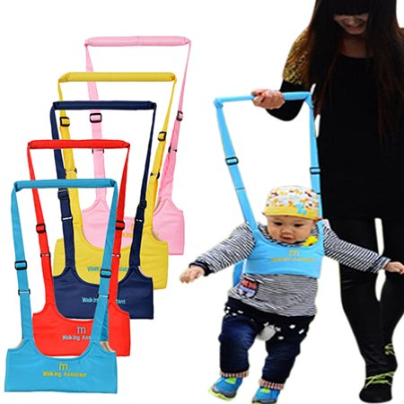Baby Walkers Walking (Walking Harness Walker for Baby Toddler,Safe Stand Hand Held Walking Helper,Walking Belt Learning To Walk Assistant Trainer for Infant Child,Adjustable Seatbelt Harness Childs Walker Learning Toy )