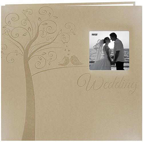 """Embossed Wedding Post Bound Album, 12"""" x 12"""", Tree"""