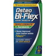 Osteo Bi-Flex Triple Strength + Turmeric, 80 Tablets