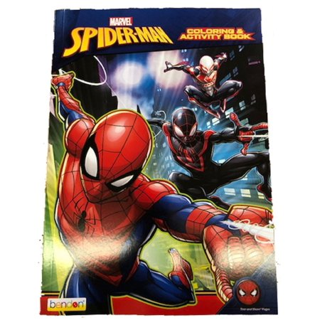 Coloring Book - Spiderman - 128p Jumbo Coloring and Activity Book](Spiderman Coloring Book)