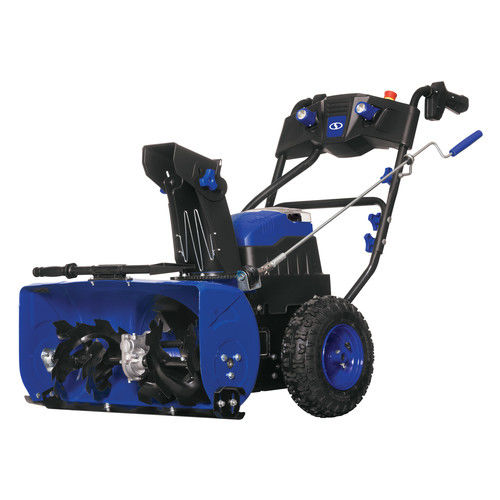 Snow Joe ION24SB-XRP 80V 6.0 Ah Cordless Lithium-Ion 24 in. Two-Stage Snow Blower Kit