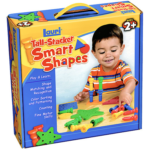 Smart Shapes(TM) and Stacking Pegs