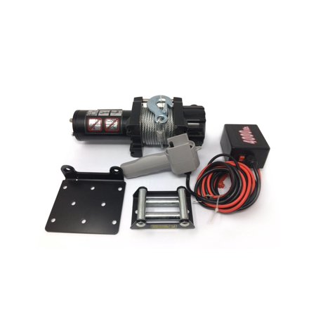 Five Oceans Electric Trailer Recovery Winch, 4000 LBS (Electric Trailer Winch)