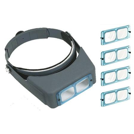 lo300  JSP   Magnifier Visor, binocular includes 4 glass lenses (lo300)