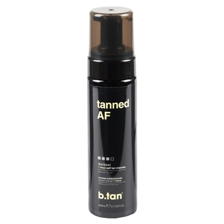 b.tan tanned AF self tan mousse, 6.7