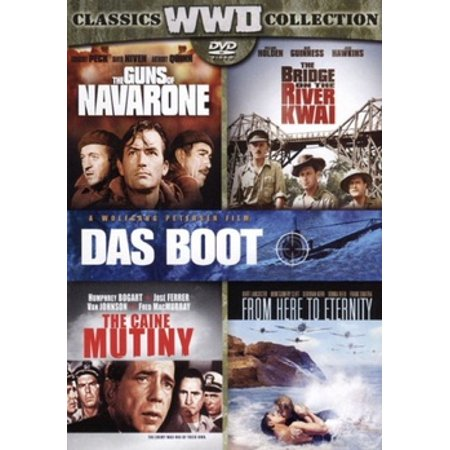 The Bridge on the River Kwai / The Caine Mutiny / Das Boot / From Here to Eternity / The Guns of Navarone (DVD)