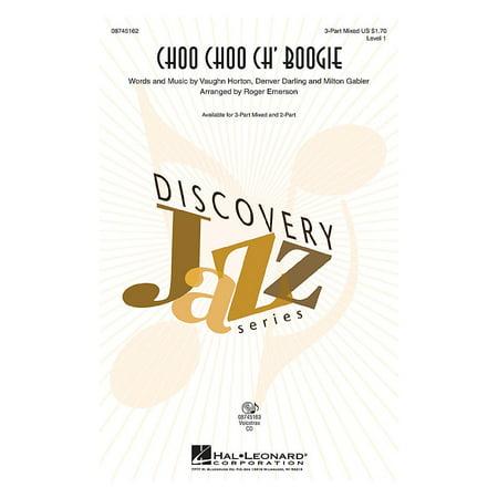 Hal Leonard Choo Choo Ch' Boogie 2-Part arranged by Roger Emerson (Emerson Karaoke)
