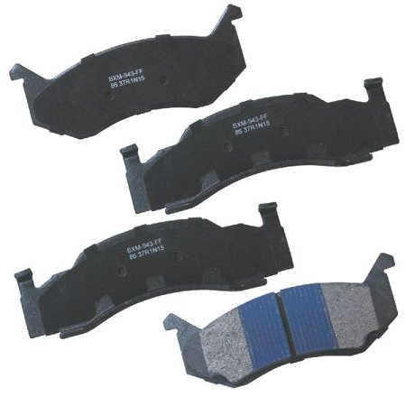 Go-Parts OE Replacement for 1974-1983 Chrysler Town & Country Front Disc Brake Pad Set for Chrysler Town &