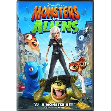 Monsters vs. Aliens (DVD) - Movie Park Halloween Monster