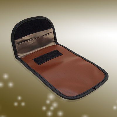 Brown Pouch Case Holder for Mobile Cell Phone MP3 MP4 - Graduation Socks