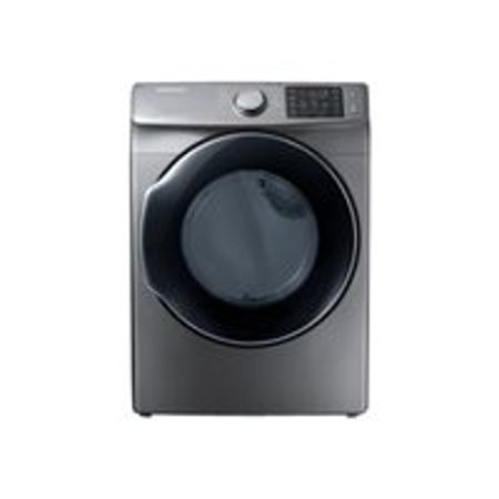 Samsung DVE45M5500P - Dryer - freestanding - width: 27 in - depth: 32 in - height: 38.7 in - front loading - platinum