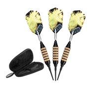 Viper Spinning Bee Black Soft Tip Darts 16 Grams