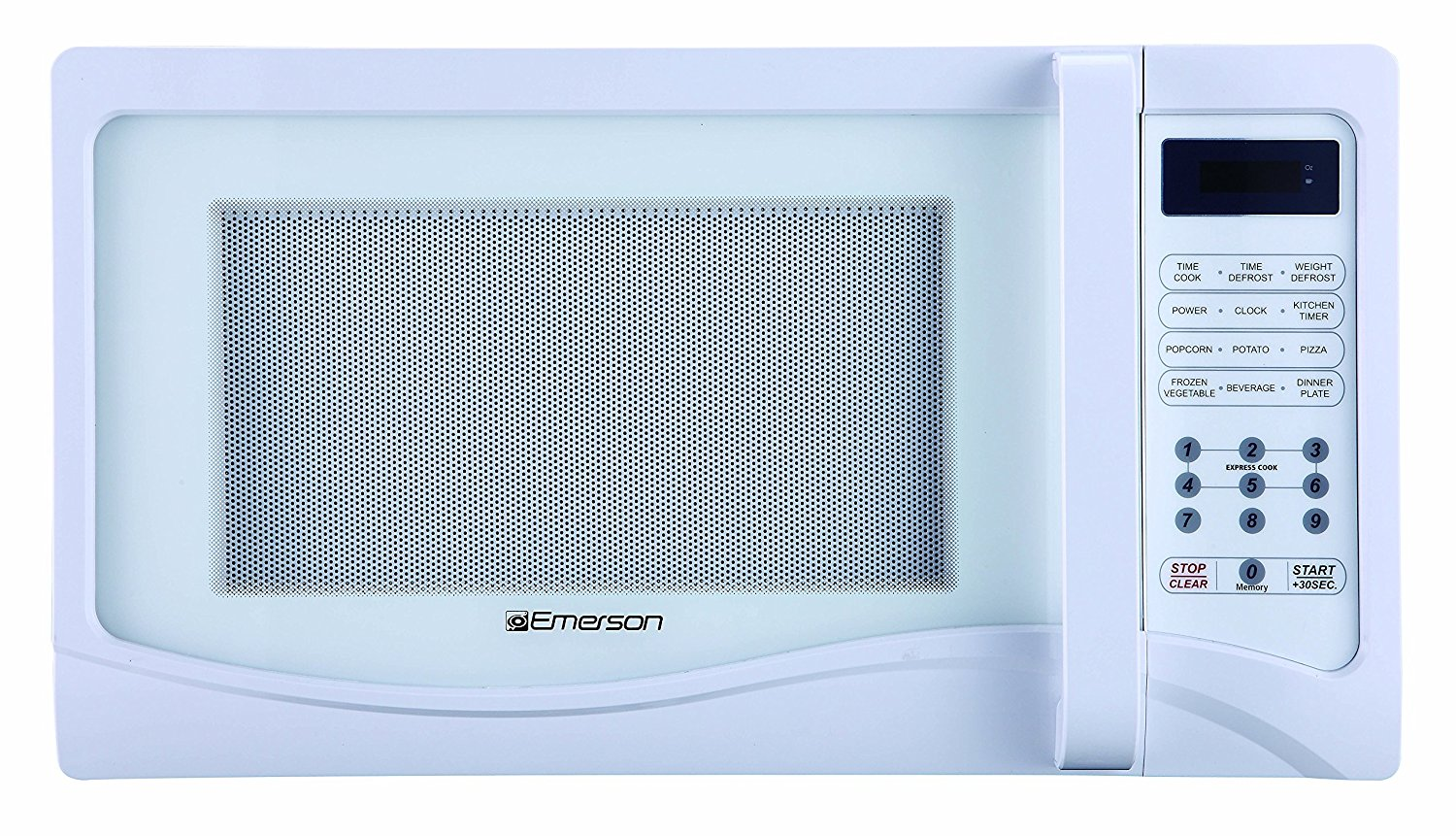1.1 CU. FT. 1000 Watt, Touch Control, White Microwave Oven by Emerson Radio