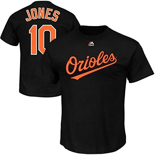 Adam Jones Baltimore Orioles Black Youth Jersey Name and Number T-shirt X-Large 18-20