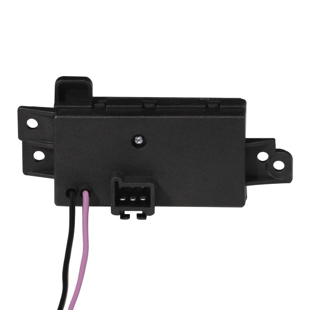 Auto Temp Control Blower Motor Resistor Compatible with ESCALADE ESV EXT AVALANCHE SILVERADO SUBURBAN TAHOE TRAILBLAZER EXT ENVOY XL XUV SIERRA 89018778 89018964 89019351