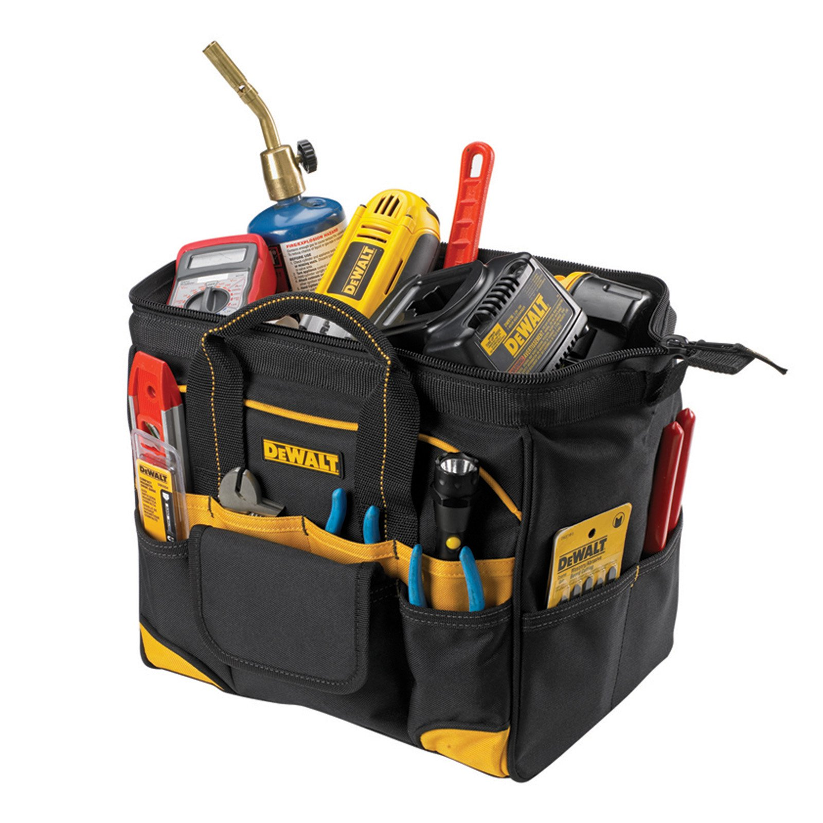 "Custom Leathercraft DG5542 12"" Tradesman's Tool Bag"