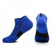 Basketball Socks Men Towel Bottom Non-slip Sports Boat Socks Terry Outdoor Medium And Short Tube Elite Socks Quick-drying Running Socks