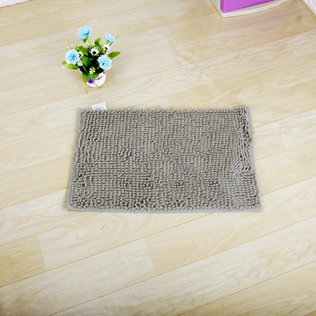 NK HOME Ultra Soft Rugs Indoor Modern Area Rugs Carpet Fluffy Living Room Carpets Suitable for Bathroom Children Bedroom Anti-Slip Home Decorate Nursery Rugs Grey (Gold Commercial Carpet)