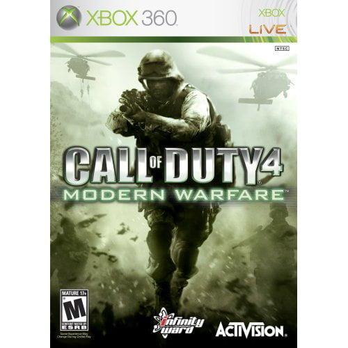 Refurbished Call Of Duty 4: Modern Warfare For Xbox 360 COD Shooter