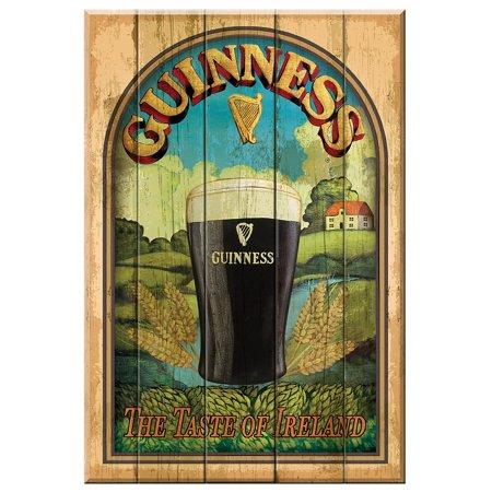 Guinness Bar Signs (Guinness Nostalgic Wooden Sign- Taste of)
