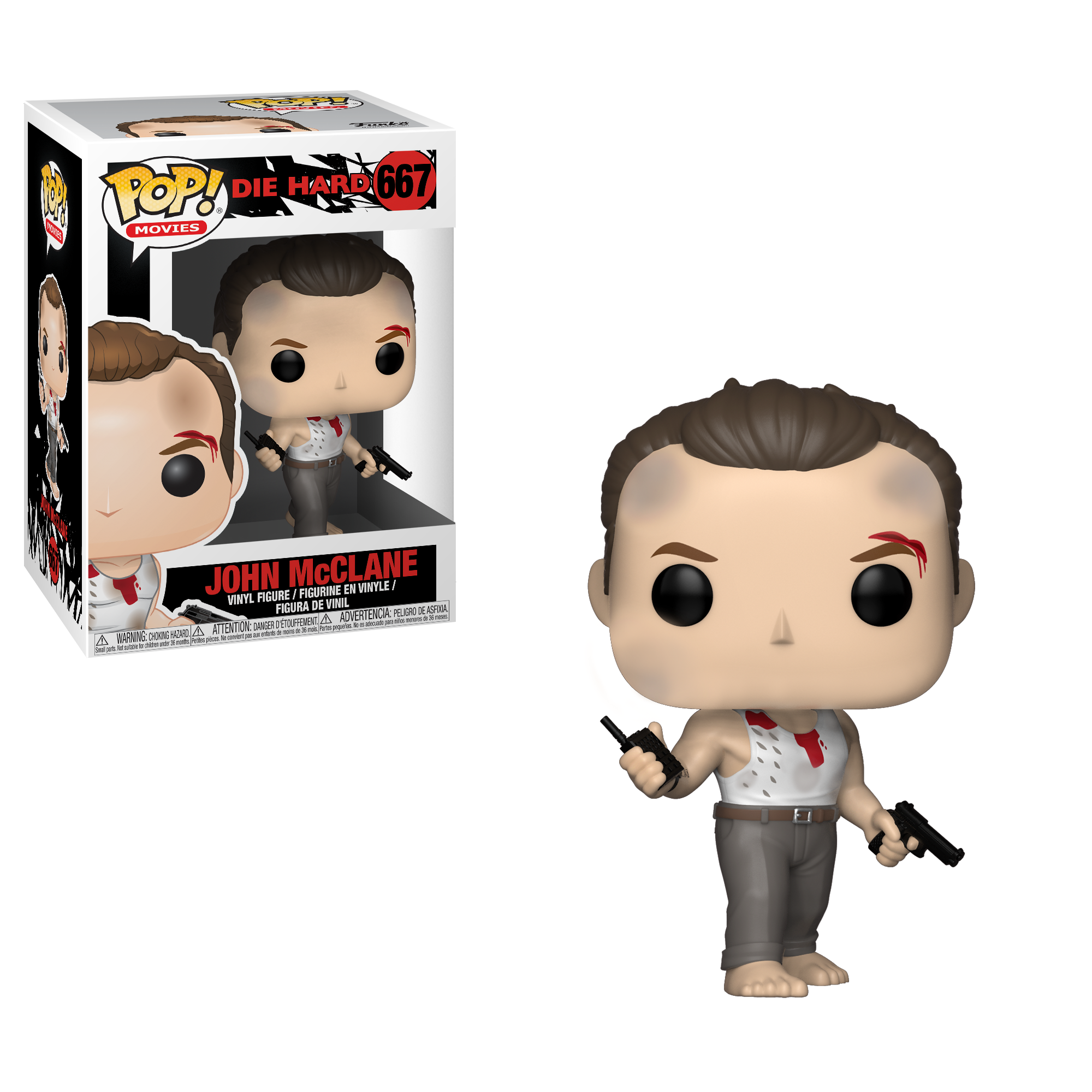 Funko POP! Movies: Die Hard - John McClane