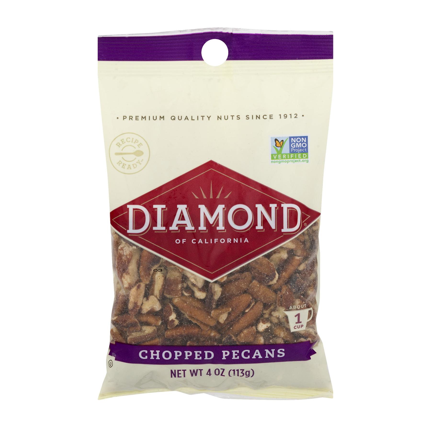 (3 Pack) Diamond Of California: Chopped Pecans, 4 oz