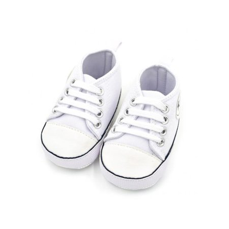 Infant Baby Kids Soft Sole Crib Non-slip Shoes Canvas Sneaker 0-18M - Toddler Slip
