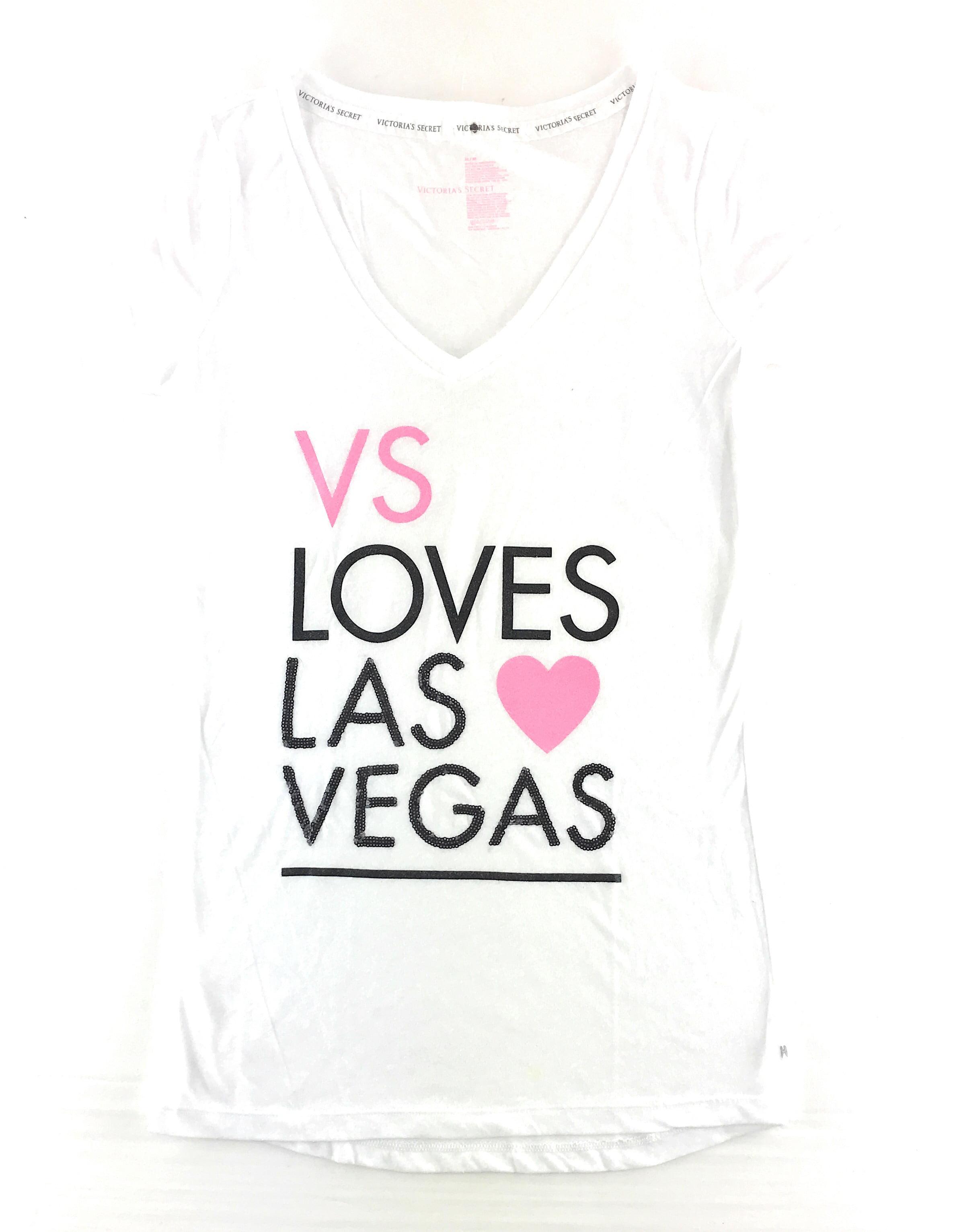 5f4545770789e Victoria's Secret Supermodel Essentials T-Shirt White Medium