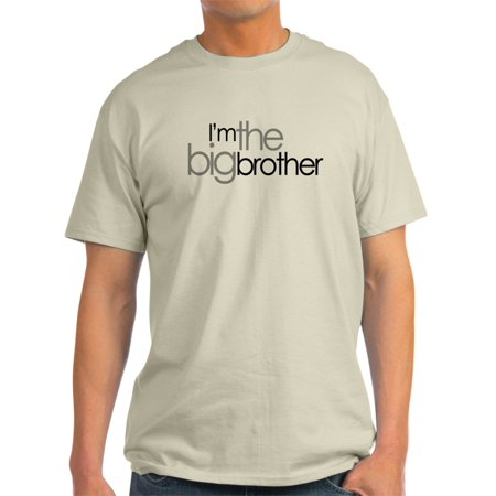 CafePress - ADULT SIZE I'm The Big Brother - Light T-Shirt - CP - Big And Tall Womens