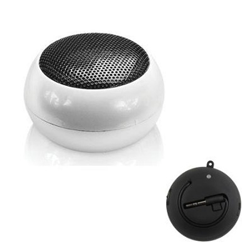 Essentials Speaker Ball for iPhone, iPod, iPad, All Tablets, and MP3's - White