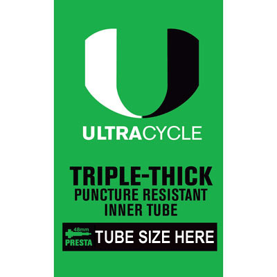 Ultracycle 26X2.20-2.50 Tube Presta Valve Tr