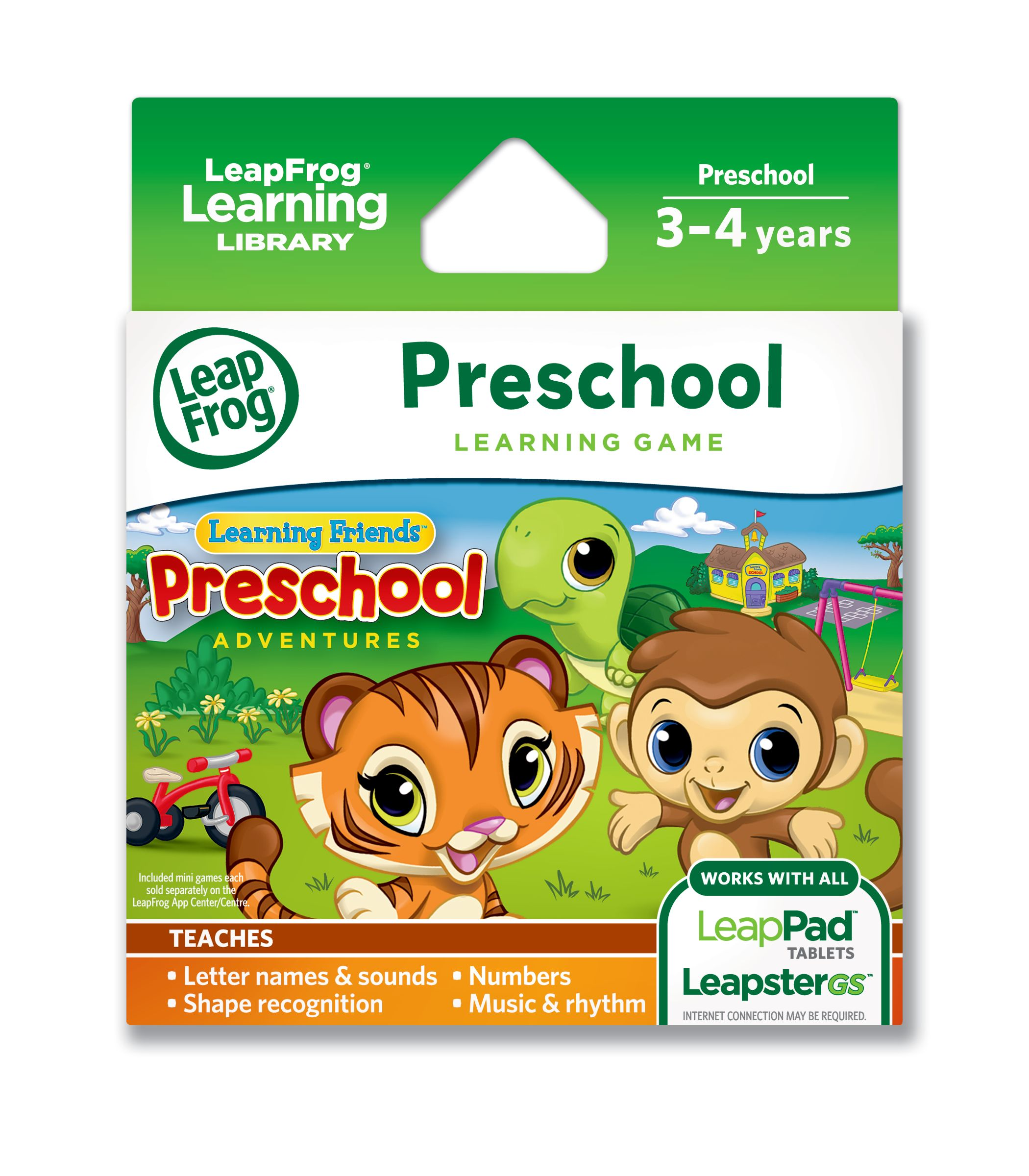 LeapFrog® Learning Friends: Preschool Adventures Learning Game ...