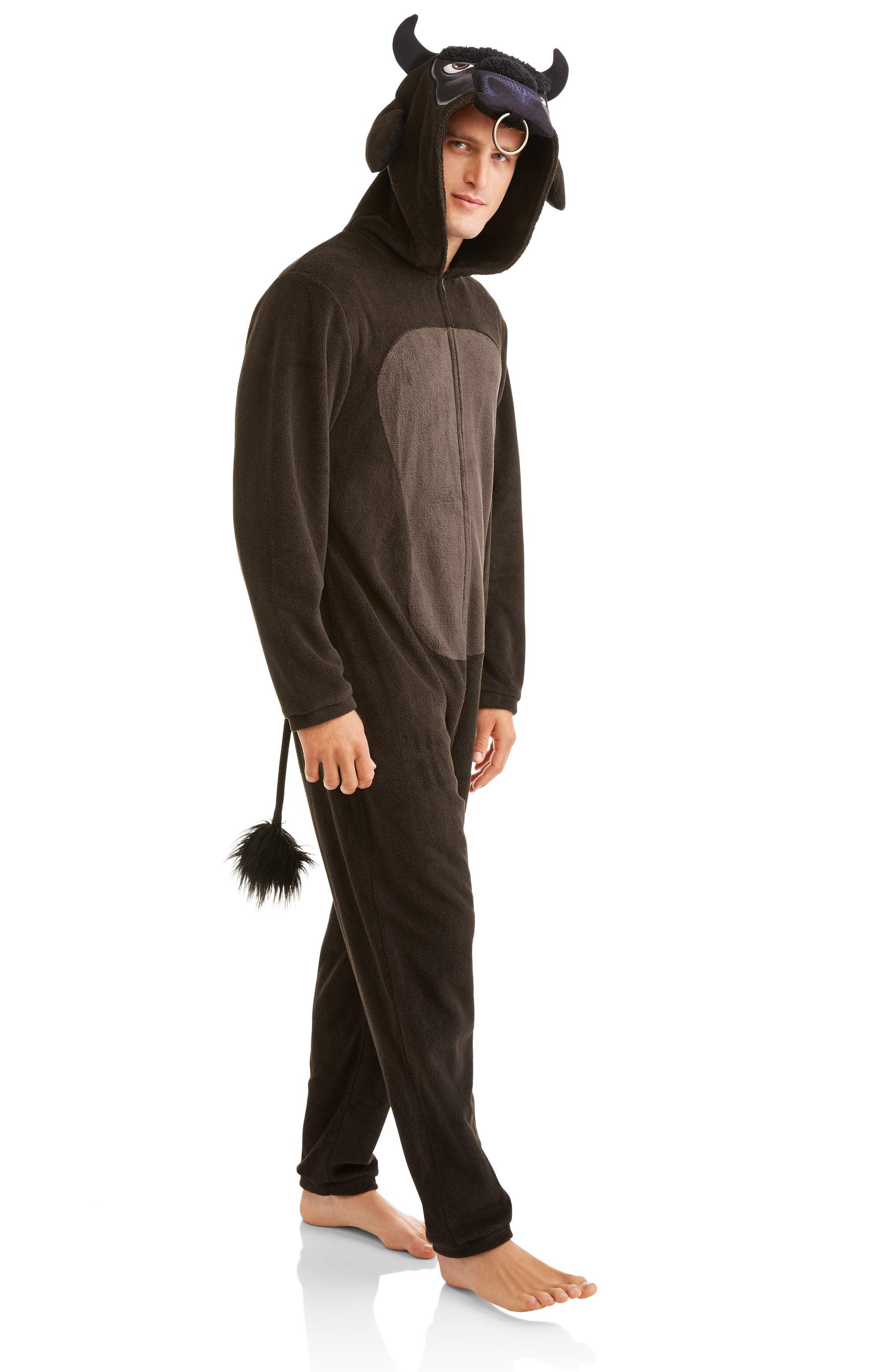 Onesie - Bull Men s Onesie Union Suit - Walmart.com 4240ad535264