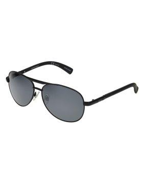 f591d1b40aaf Product Image Foster Grant Men's Black Polarized Pilot Sunglasses FF07