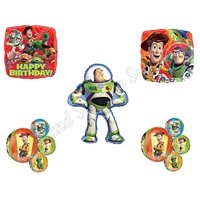 TOY STORY ORBZ BUZZ Lightyear Birthday party Balloons Decoration Supplies Woody 5 pc