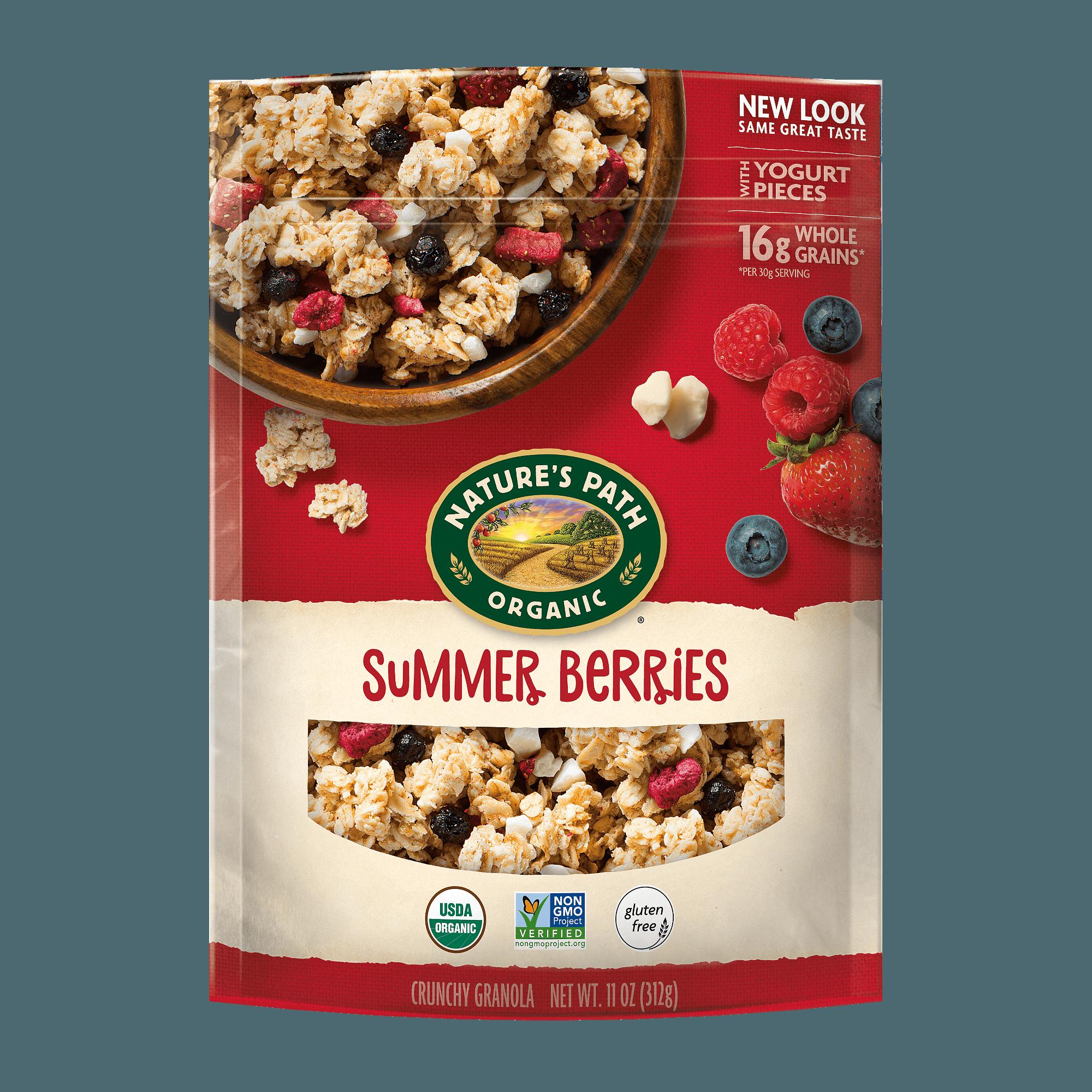 Nature S Path Organic Granola Summer Berries 11 Oz Walmart Com Walmart Com