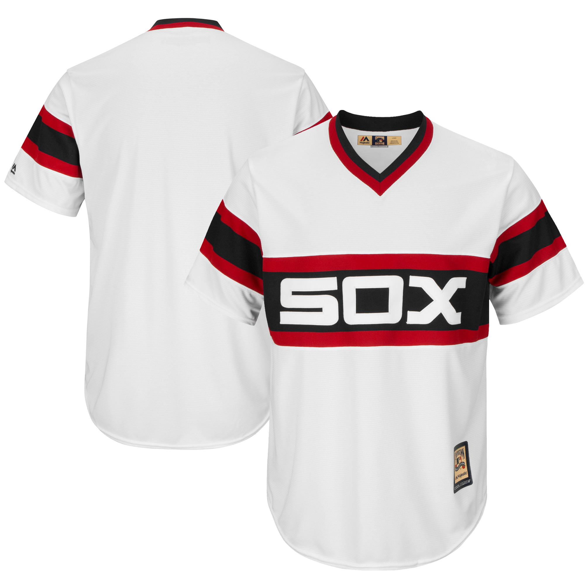 Chicago White Sox Majestic Cooperstown Cool Base Team Jersey - White