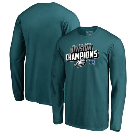 Philadelphia Eagles NFL Pro Line by Fanatics Branded 2017 NFC East Division Champions Long Sleeve T-Shirt - Midnight Green](Nfl Am Halloween 2017)