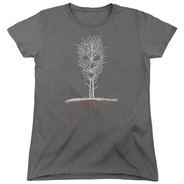 American Horror Story - Scary Tree - Women's Short Sleeve Shirt - Large