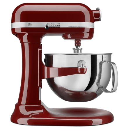 KitchenAid KP26M1XGC Pro 600 Series 6 Quart Bowl-Lift Stand Mixer, Gloss