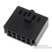 10X Te Connectivity / Amp 102387-1 Connector Housing, Receptacle 10Pos, 2.54Mm