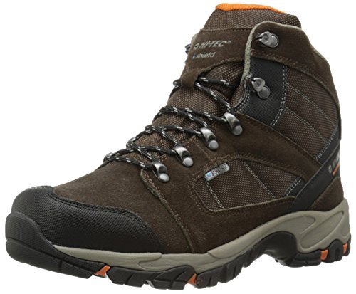Hi-Tec Men's Borah Peak I Waterproof Hiking Boot, Dark Chocolate Burnt Orange,10 M US by Hi-Tec Sports USA, Inc