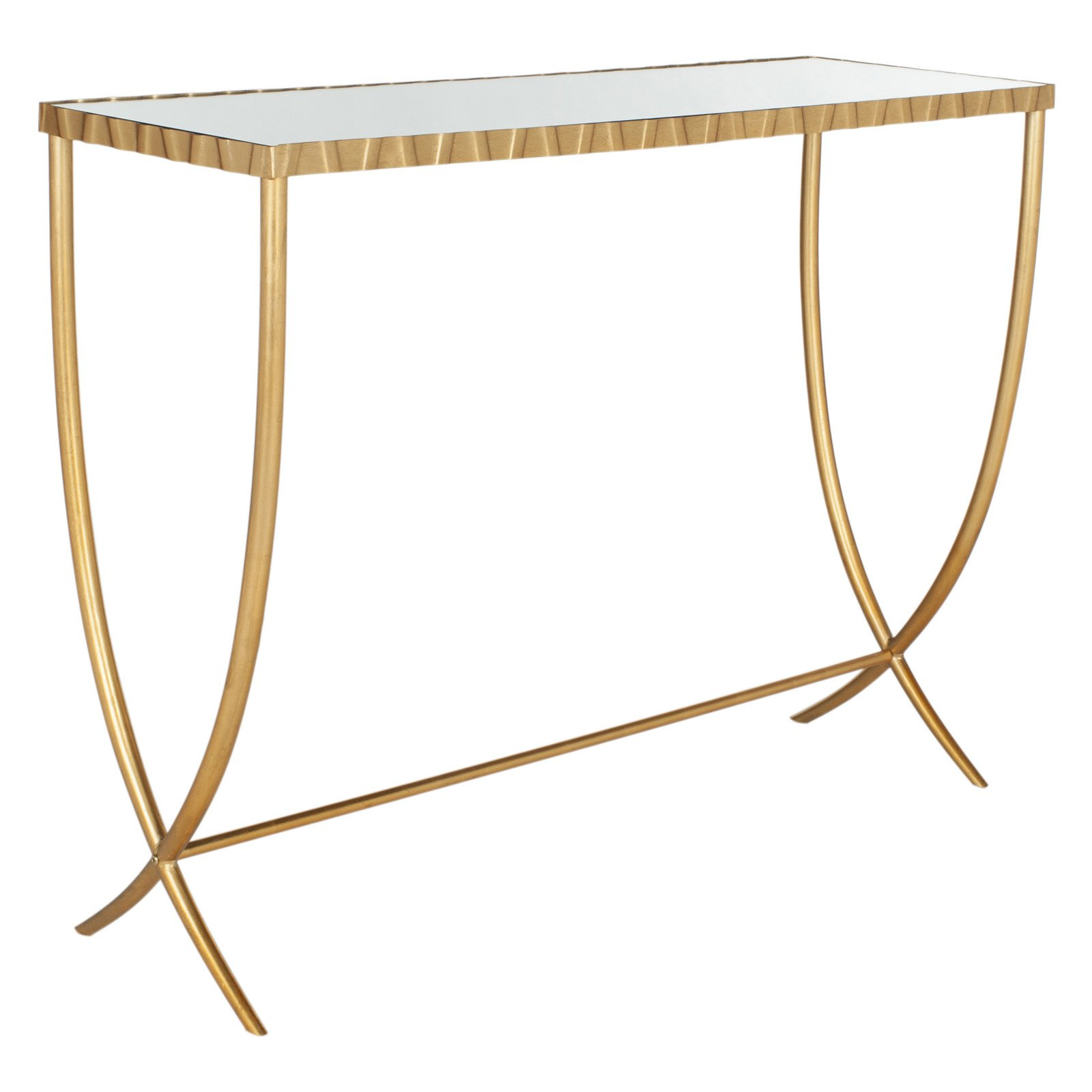 Safavieh Princess Console Table, Gold/Mirror