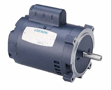1 hp 3450 RPM 56C 115 208-230V Well Pump Motor Leeson # 100722 by