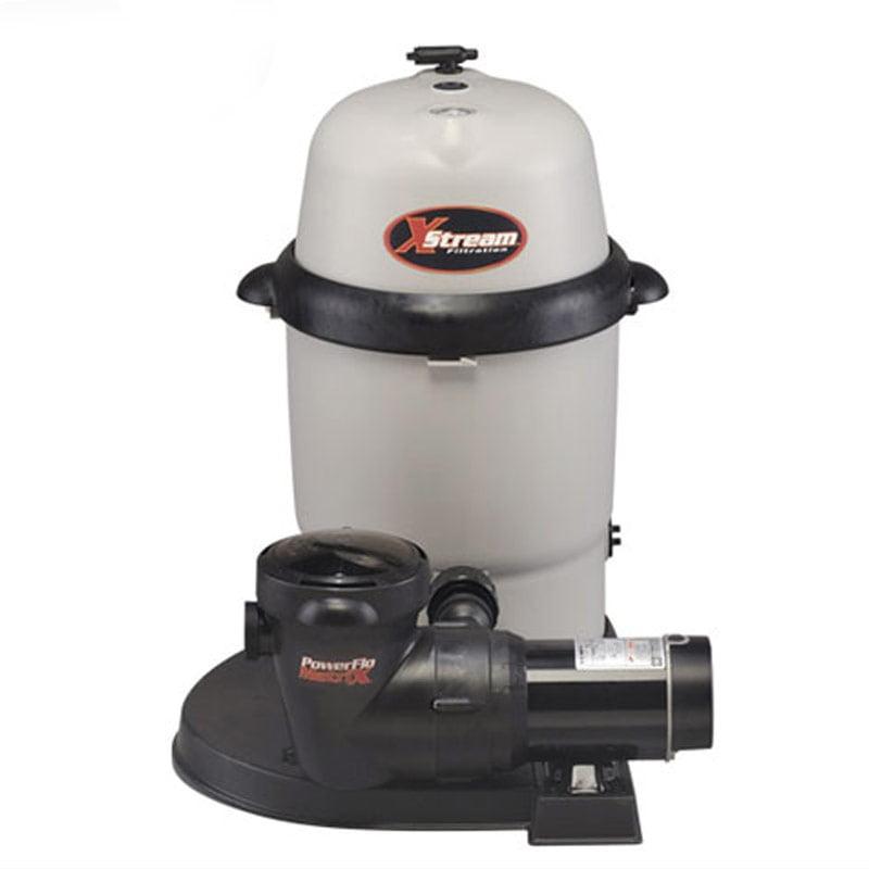 Hayward XStream CC10092S Above Ground Swimming Pool Cartridge Filter w/ Pump