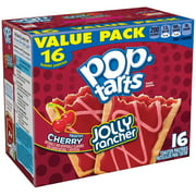 2 Pack Kelloggs Pop Tarts Jolly Rancher Frosted Cherry Toaster Pastries 16 Ct