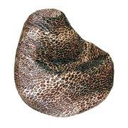 AFA, INC Adult Bean Bag Print Leopard - Multi