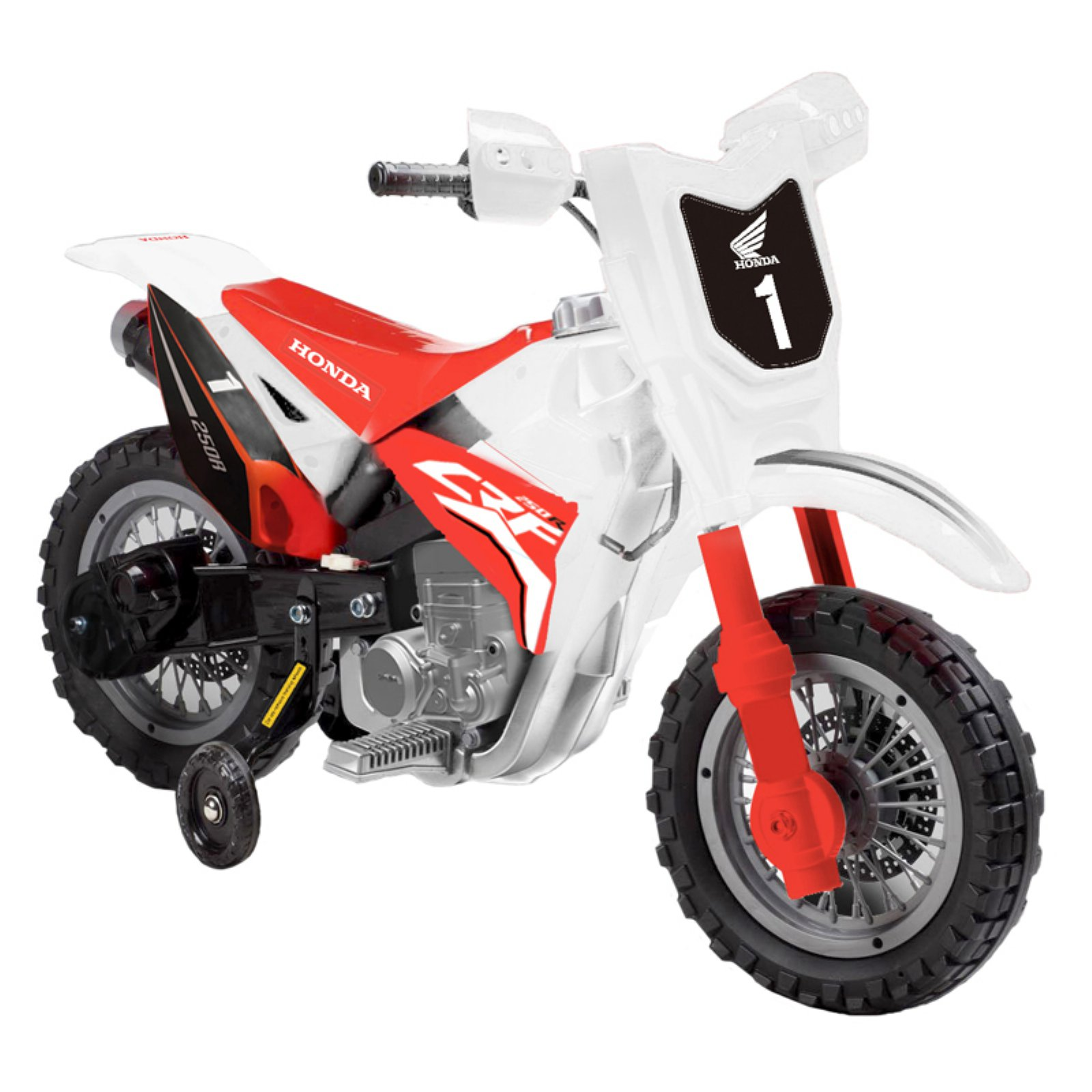 Best Ride On Cars Honda CRF250R Dirt Bike Battery Powered Riding Toy
