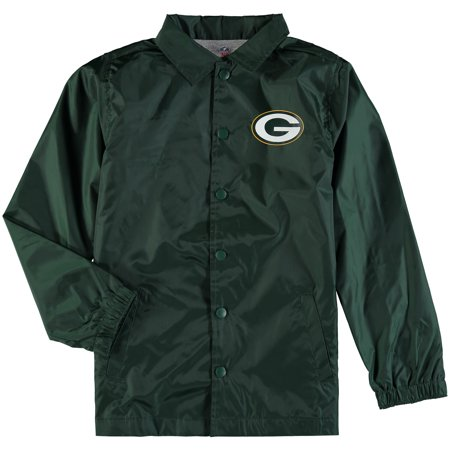 Green Bay Packers Coach Mike - Green Bay Packers Youth Bravo Coach Jacket - Green