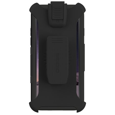 Seidio BD2-HT1IPH6K-BK TouchView Case Cover with Metal Kickstand & Holster for Apple iPhone 6 (4.7